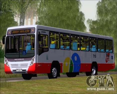 Neobus Mega IV - TCA (Araras) para GTA San Andreas left