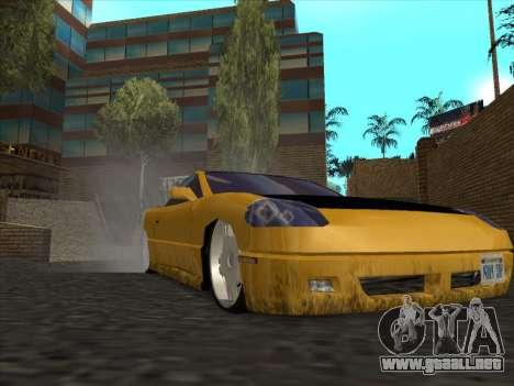Alpha HD Cabrio para GTA San Andreas vista hacia atrás