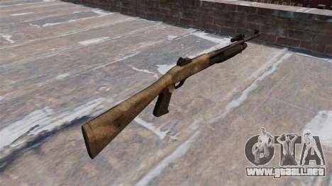 Ружье Benelli M3 Super 90 un tac au para GTA 4 segundos de pantalla