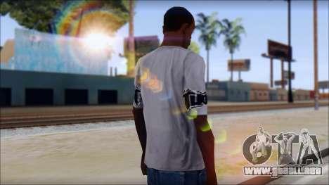 Tapout T-Shirt para GTA San Andreas segunda pantalla