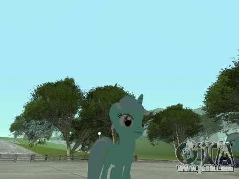 Lyra para GTA San Andreas sucesivamente de pantalla