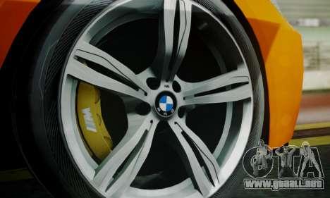 BMW M6 F13 2013 para las ruedas de GTA San Andreas