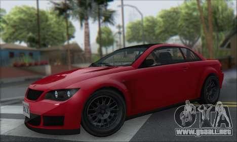 La superioridad Sentinel XS para la visión correcta GTA San Andreas