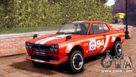 Nissan Skyline 2000 GTR SH para GTA 4