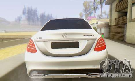 Mercedes-Benz C250 AMG para la visión correcta GTA San Andreas