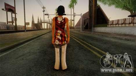 Billie from Stranglehold para GTA San Andreas segunda pantalla
