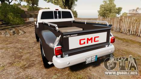 GMC 454 Pick-Up para GTA 4 Vista posterior izquierda