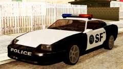 Jester Police SF para GTA San Andreas