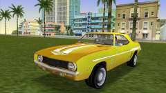 Chevrolet Camaro Cab 1969 para GTA Vice City