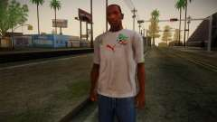 Algerian Football T-Shirt para GTA San Andreas