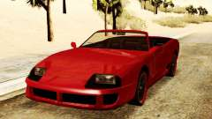 Bufón Convertible para GTA San Andreas