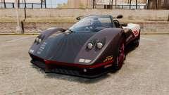 Pagani Zonda C12S Roadster 2001 v1.1 PJ4 para GTA 4