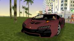 Zentorno from GTA 5 para GTA Vice City