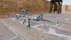 Automático carabina MA nieve Derretida Camo