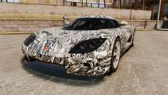 Koenigsegg CCX v1.5 para GTA 4