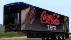 Trailer Chereau Coca-Cola Zero Camión