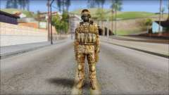 Desert GRU from Soldier Front 2 para GTA San Andreas