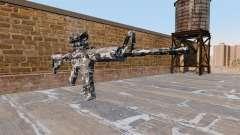Automático carabina MA Ciudad de Camuflaje para GTA 4