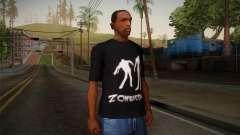 Zombie Polo Shirt para GTA San Andreas