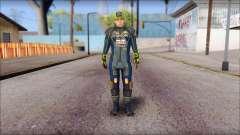 Piers Azul Gorra para GTA San Andreas
