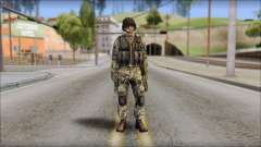 Forest GROM from Soldier Front 2 para GTA San Andreas