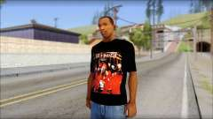 SlipKnoT T-Shirt mod para GTA San Andreas