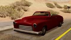 Hermes Convertible para GTA San Andreas