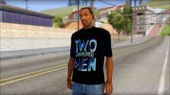Two and a half Men Fan T-Shirt para GTA San Andreas