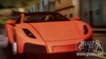 Spano Black para GTA San Andreas