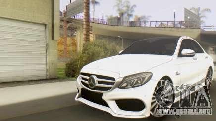 Mercedes-Benz C250 AMG para GTA San Andreas