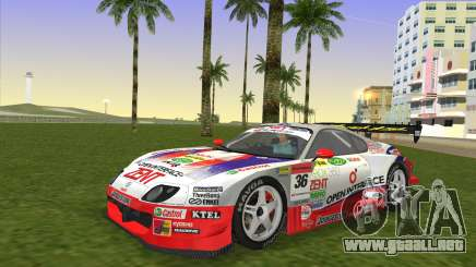 Toyota Supra RZ JZA80 Super GT Type 6 para GTA Vice City