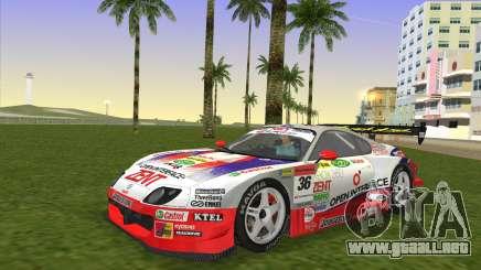 Toyota Supra RZ JZA80 Super GT Type 6 para GTA Vice City