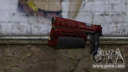 Infinity EX2 Red from CSO NST para GTA San Andreas