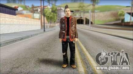 Biker from Avenged Sevenfold 3 para GTA San Andreas