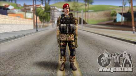 Forest GRU Vlad from Soldier Front 2 para GTA San Andreas