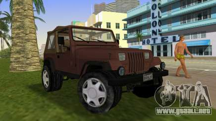 Jeep Wrangler para GTA Vice City