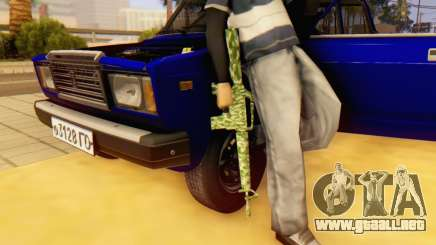Camo M16 para GTA San Andreas