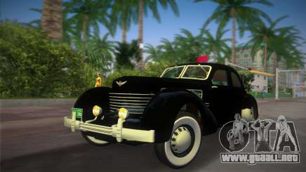 Cord 812 Charged Beverly Sedan 1937 para GTA Vice City