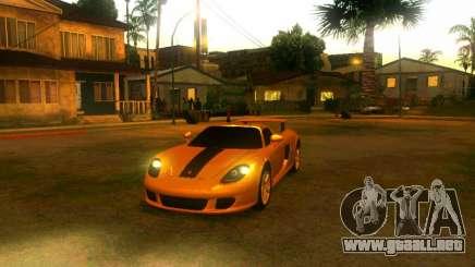 Porsche Carrera GT купе para GTA San Andreas