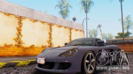 Porsche Carrera GT 2005 para GTA San Andreas
