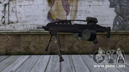 XM8 LMG Black para GTA San Andreas