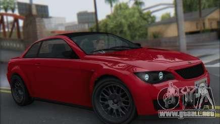 La superioridad Sentinel XS para GTA San Andreas
