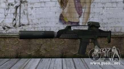 XM8 Compact Green para GTA San Andreas