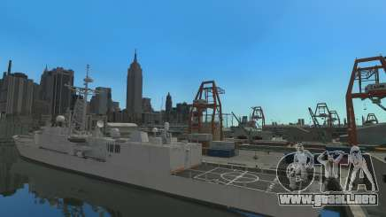 U.S. Navy frigate para GTA 4