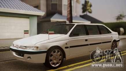 Peugeot Pars Limouzine para GTA San Andreas