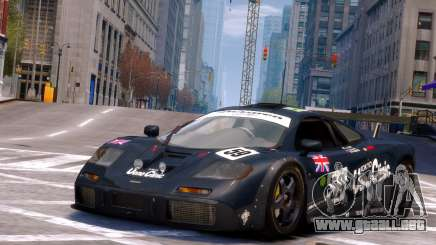 McLaren F1 GTR para GTA 4