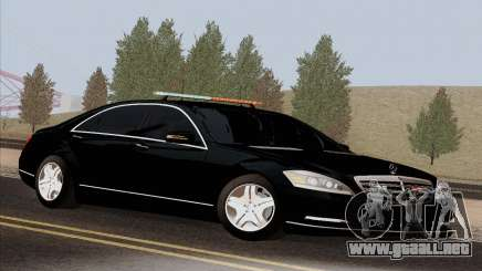 Mercedes-Benz S600 W221 2012 para GTA San Andreas
