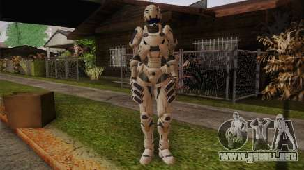 Suit from Vanquish para GTA San Andreas