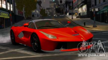 Ferrari LaFerrari WheelsandMore Edition para GTA 4