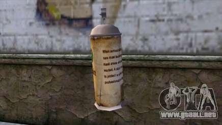 Spraycans from Bully Scholarship Edition para GTA San Andreas
